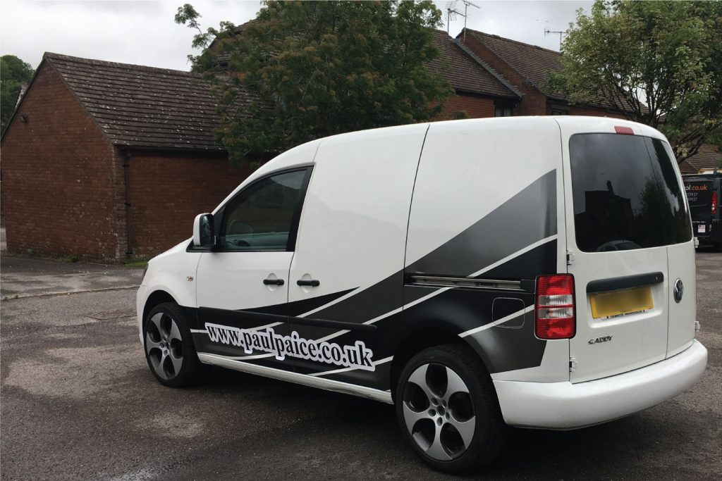 VW Caddy Van Graphics